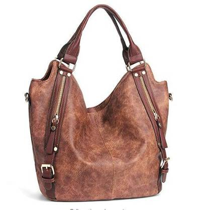 Women Handbags Hobo Shoulder Bags Tote PU Leather Handbags Fashion Large Capacity Bags Lady Handbag