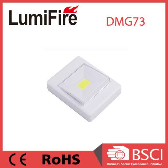 Battery Operated 3W COB LED Wall Small Switch Night Light