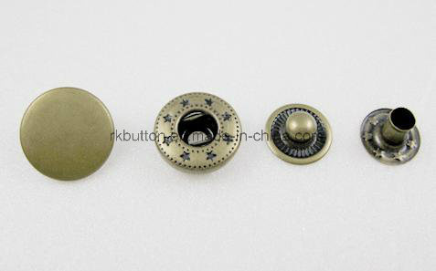 Factory Supplier Fashion Four Part Snap Button pictures & photos