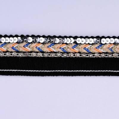 Special Fashion Crystal Ribbon Decoration for Garment
