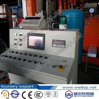 Automatic Ferritic Alloy Steel Pipe Centrifugal Casting Machine