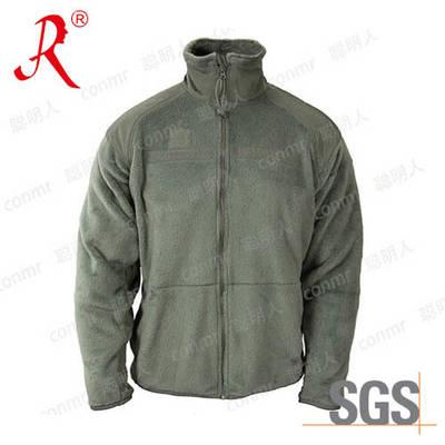Chinese Manufacturer OEM Fleece Men′s Jacket (QF-489)