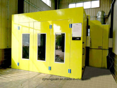 Full Down Draft Car Paint Spray Booth for Sale