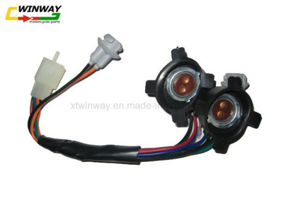 Ww-8810 Wave110 Motorcycle Lamp Holder Light Socket Motorcycle Parts