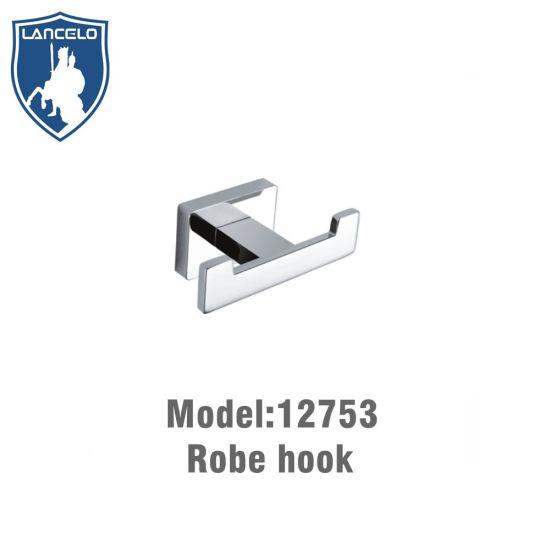 Bathroom Accessories Hanger Brass Chrome Wall Coat Hook for Bathroom