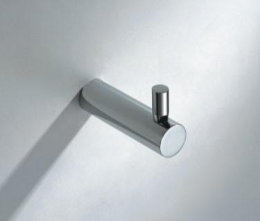 Bathroom Fitting Chrome Round Sinple Robe Hook Sanitary Ware (6610)