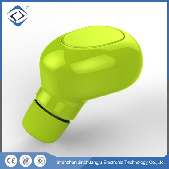 Custom Mini Sports Stereo Wireless Bluetooth Headphones in-Ear Earphone with Microphone
