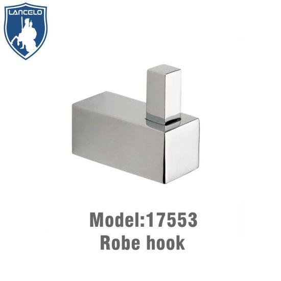Hot Sale Bathroom Product Brass Chrome Coat Hook China Bathroom