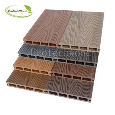 Hot Sales 3D Wood Grain WPC Wood Plastic Composite Decking