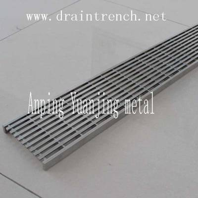 Stainless Steel Shower Linear Drain/Wedge Wire Drain/Trench Drain