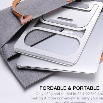 The Great Office Furniture Desktop Portable Aluminium Stands for Laptop