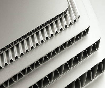 Classified GB 8624 B1 (difficult-flammability) Aluminum Corrugated Panel