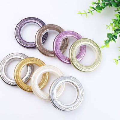 Home Decorative ABS Plastic Curtain Eyelet Ring (01Q0002)
