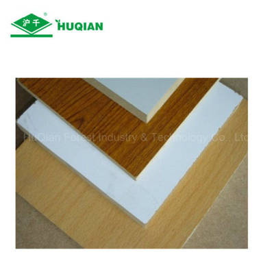12mm Mdf Board With 2 Sides Melamine Laminated Fiberboard From
