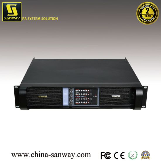4 Channel Power Amplifiers (Sanway FP6000Q)