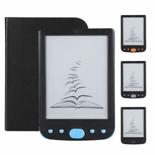 6-Inch Ink Screen E-book Reader for Quick Reading and Easy Mechanical Switch 800 X 600 TF Card, up t