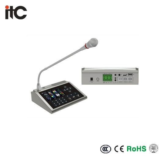 Desktop TCP IP Paging Microphone PA