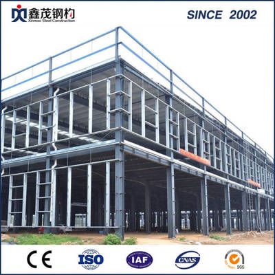 Prefab H Section Frame Building Steel Structure for Workshop