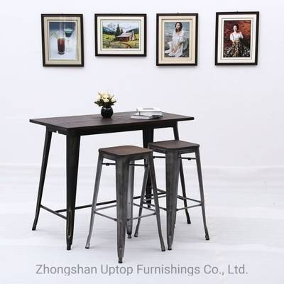 Incredible Sp Bt705 Bar Furniture Antique Bar Table Industrial Vintage Round Cafe Table Download Free Architecture Designs Rallybritishbridgeorg