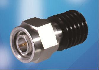 5 Watt RF Load up to 18 GHz with TNC Male Inputblack Anodized Aluminum Heatsink