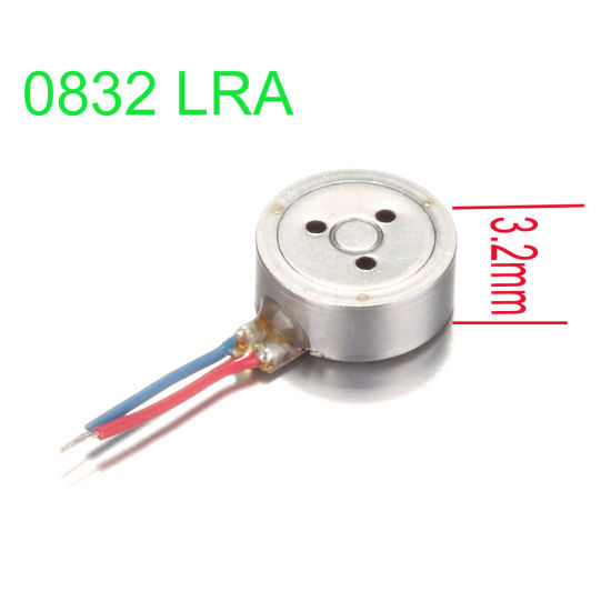 AC Linear Actuator Motor with Eak Acceleration Value 1.8g Lra Vibration Motor