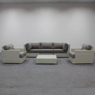 All Weather Wicker Sofa Set Patio Furniture