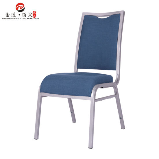 Foshan Factory Wholesale Hotel Furniture Aluminium Stacking Used Metal Banquet Chair for Wedding
