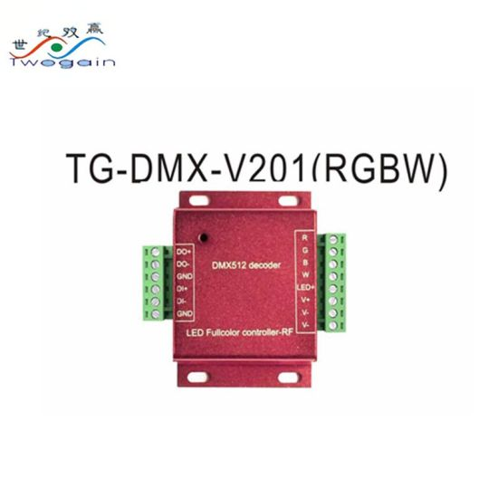 LED Light Constant Voltage LED Driver RGBW DMX512 Decoder Controller