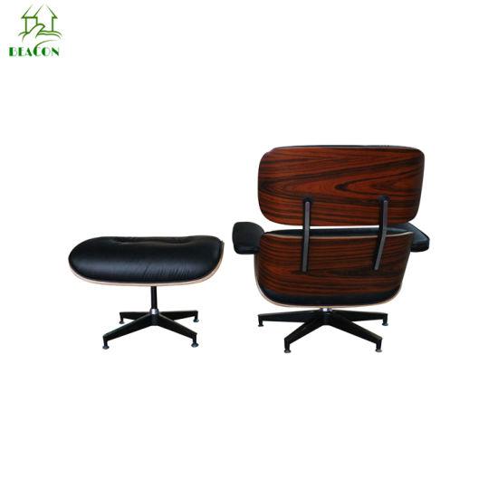 Eames Lounge Stoel Replica.Modern Designer Furniture Replica Leather Rose Wood Charles Eames