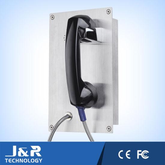 Prison Visitation Telephone Emergency Vandal Resistant Telephone Ringdown Inmate Telephone