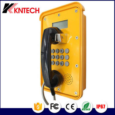 VoIP Telephone Weatherproof Telephone Industrial Telephone with LCD Display