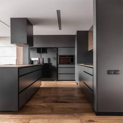 Welbom America Style L Shape Kitchen Cabinet Door Cabinet Doors