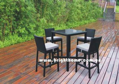 Outdoor Furniture - Bar Stool - Bar Table and Chair (BG-N010)