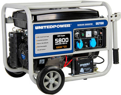 1kw, 2kw, 3kw, 4kw, 5kw, 6kw Electric and Hand Start Air-Cooled AC Single and Three Phase Power and