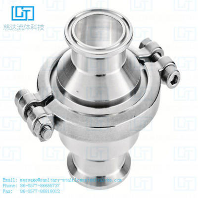 DIN SMS Sanitary Stainless Steel Higyenic Clamp Check Valve for Food Processing