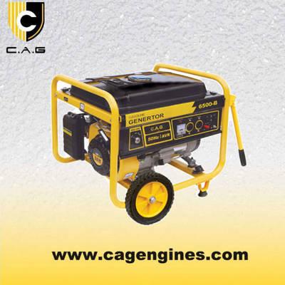 Single Phase Electric Start (5kw 6kw 7kw 5kVA 6kVA 7kVA) Portable Gasoline/Petrol Power Generator