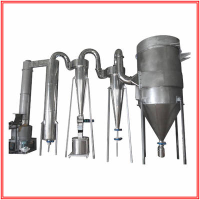 Rotary Flash Dryer for Cuprous Chloride, Lead Sulfate