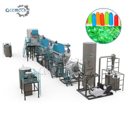 Used Pet Bottle Washing Waste Plastic Recycling Machine