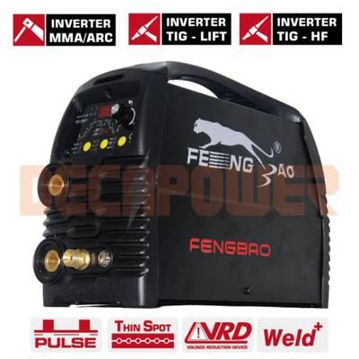 Ws-200 180A IGBT Inverter DC Pulse Hf/Lift TIG Welding Machine