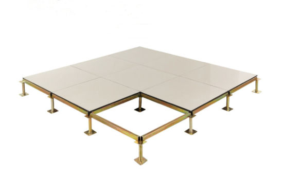 Anti Static Raised Access Floor System, Ceramic Tile