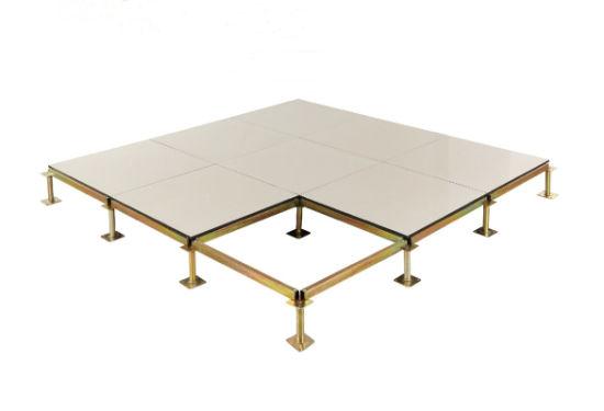 Anti Static Raised Access Floor System, Ceramic Tile