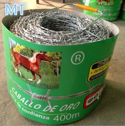 Barbed Wire Hot Dipped Galvanized/Electro Galvanized /PVC Coated