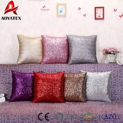 Hot Sale Custom Fashion Square Mermaid Sequin Cushion