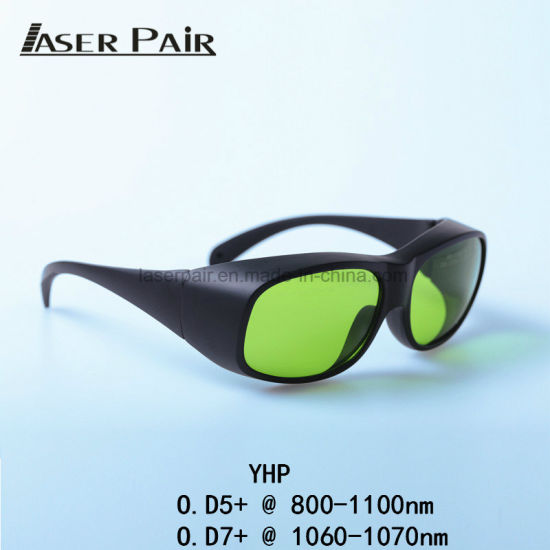 CE YHP High Power Laser Safety Glasses, Safety Goggles for Fiber Laser Cutting/High Precision Fiber