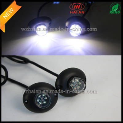 Cars Warning Light Hide a Way in 2X6 White LED