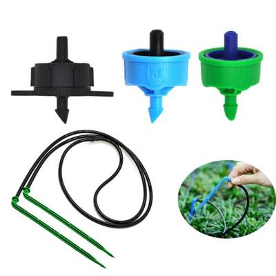 Drip Irrigation Systems Curve Dripper Arrow with PVC Pipe for Greenhouse Sprinkler Irrigation