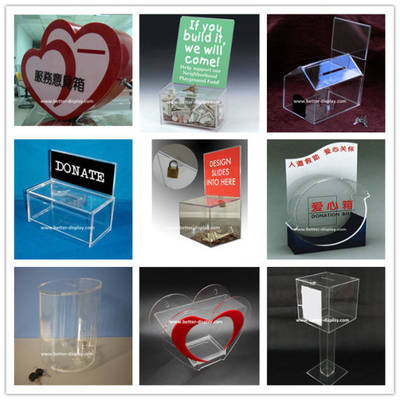 Factory Custom High Quality Clear Acrylic Box pictures & photos