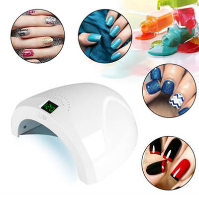 Factory Direct Price Chargeable LED UV 36W Automatic Sensor Nail Lamp
