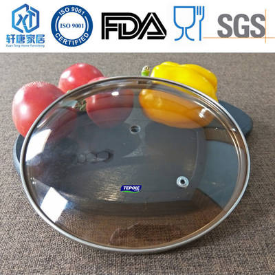 G Type Brown Tempered Glass Cover Instant Pot Lid