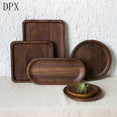 Kitchenare Tool Tableware Plate Wholesale High Quality Small Wood Tray